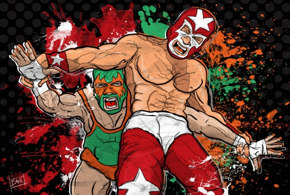 battle of the luchas
