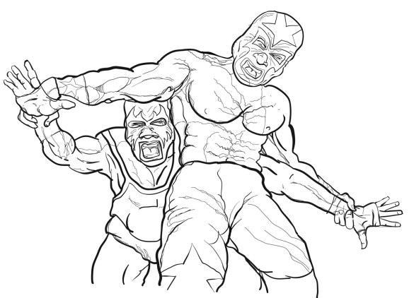 lucha-vector
